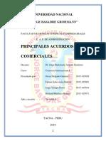 Informe Principales Acuerdos Comerciales