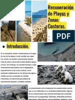 Recuperación de Playas y Zonas Costeras.