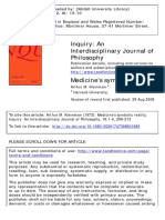 Medicine's Symbolic Reality
