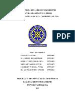 324931_komunikasi Bisnis Kelompok 5 Materi Laporan Dan Proposal Bisnis