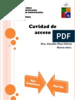 Clase Cavidad de Acceso 2011