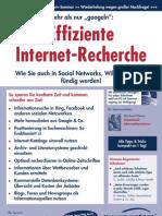 Eiffiziente Internet-Recherche - Praxisseminar - Referent Michael Klems