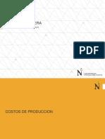 Costos de Produccion Minera a Tajoa Abierto