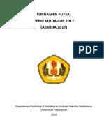 Daftar peserta Turnamen Futsal PERKI MUDA CUP 2017.docx