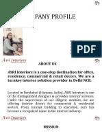Company Profile_Asri Interiors