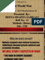 Heena Shaziya_13_II World War