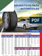 Catalogo Neumaticos Automoviles