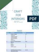 Craft for Interiors