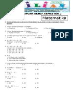 Sd Soal Latihan Matematika 010201