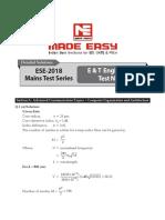 EC Mains-2018 Paper-2 Solutions