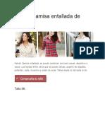 Patrón Camisa entallada de mujer.docx