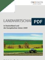 Landwirtschaft in Deutschland Und Der EU 2009