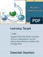 Earth's Subsystems
