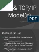 01 Hanif OSI Model and TCP IP Model