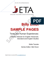 Billy Elliot Sample Page