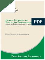 Massoterapia Principios de Ergonomia