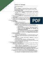 Media Information Literacy Ut 1 Reviewer