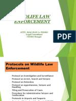 Wildlife Law Enforcement