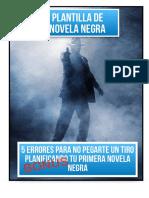 Plantilla Novela Negra