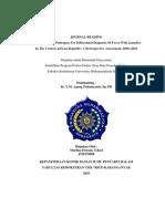 Identifikasi patogen untuk diagnosis banding demam dengan icterus di Republik Afrika Tengah.docx