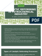 Catalytic Reforming in Petrochemical Industry