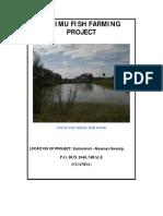 Proposal fish Plan