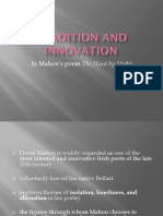 Mahon Tradition and Innovation