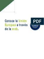 Conoce la Unión Europea a través de la web - Guión