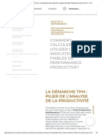 Comment Calculer Et Utiliser Des Indicateurs Fiables de Performance Productive_ - Atys
