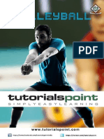 Tutorial of a volleyball game