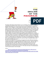 The Decline of Maharaja