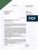 Antwort Des Landesamtes Für Umwelt