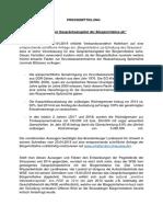 Pressemitteilung der Bürgerinitiative Zur Erhaltung Des Straussee
