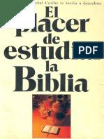 24163692 El Placer de Estudiar La Biblia
