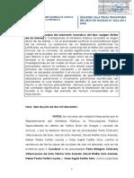 Recurso de Nulidad N° 3036-2016. La Prueba Del Elemento Normativo Del Tipo «Origen Ilícito». Lima, 2017.