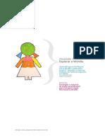 Brochura para atividades com alunos estrangeiros