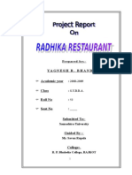 61700837-RADHIKA-Restaurant-MBA-Project-Report-Prince-Dudhatra.doc