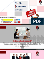 COMMON JOB INTERVIEW QUESTIONS WITH ANSWERS BY PRISTYN RESEARCH.pdf