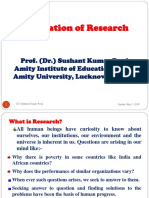 Foundation of Research