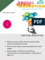 Social Media Slides Tuten Chap 1