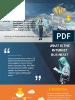 Ppt e Bisnis Dan Internet