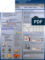 Poster BHP-Contribution à l'Étude Rhéologique d'Un Béton à Hautes Performances (BHP) Local