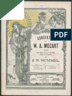 [Free Scores.com] Mozart Wolfgang Amadeus Concerto Pour Piano No 20 en la Mineur 67439