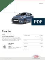 Kia Configurator Picanto Gt Line 20190419