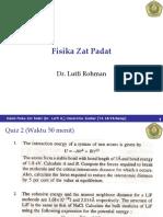 Kuliah FisikaZPadat Kuliah5 Vibrasi Kisi