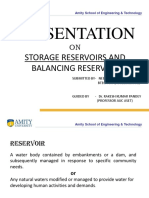 Storage Reservior and Balancing Reservoir