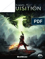 Dragon Age Inquisition Manuals PC De