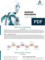 Artificial Intelligence Training and Placement Program - Bangalore and Coimbatore