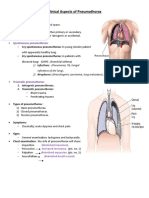 Clinical Aspects of Pneumothorax