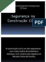 Seminário  - Segurança na Construção Civil